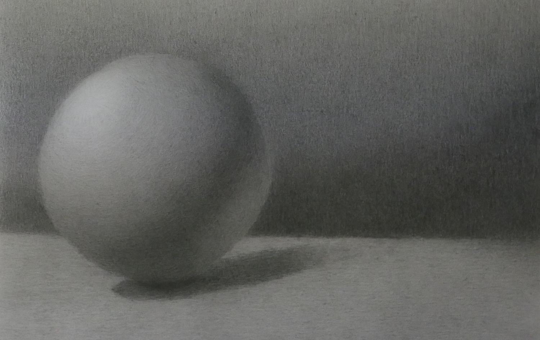 Tekening Bal - de GeBieden van Licht en donker